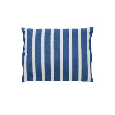 Trinidad Sunbrella Throw Pillow Color: Shore Regatta