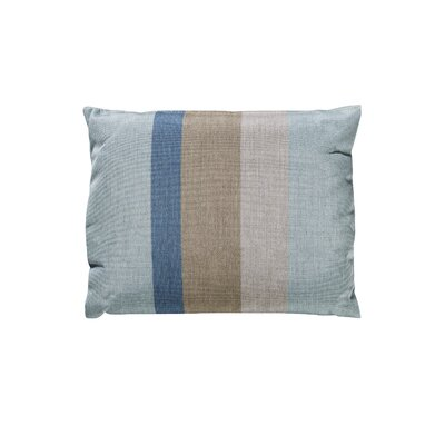 Trinidad Sunbrella Throw Pillow Color: Gateway Mist