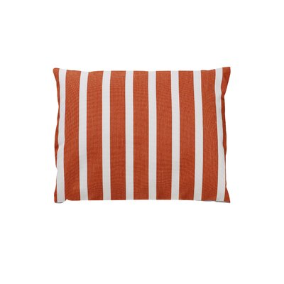 Adriano Sunbrella Throw Pillow Color: Shore Flame