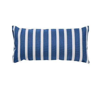 Trinidad Outdoor Lumbar Pillow Color: Shore Regatta