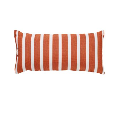 Trinidad Outdoor Lumbar Pillow Color: Shore Flame