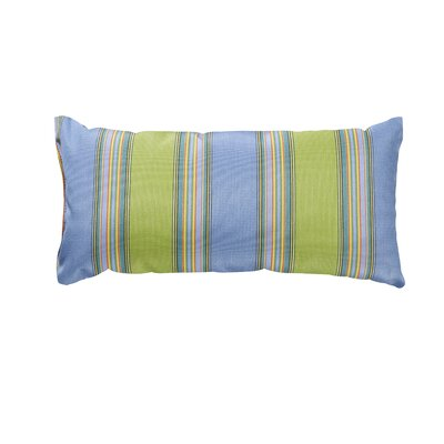 Trinidad Outdoor Lumbar Pillow Color: Bravada Limelite