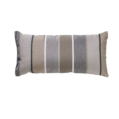 Trinidad Outdoor Lumbar Pillow Color: Milano Char