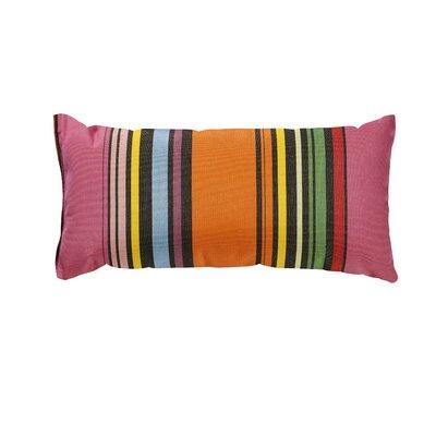 Trinidad Sunbrella Lumbar Pillow Color: Icon Pop