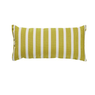 Trinidad Outdoor Lumbar Pillow Color: Shore Citron