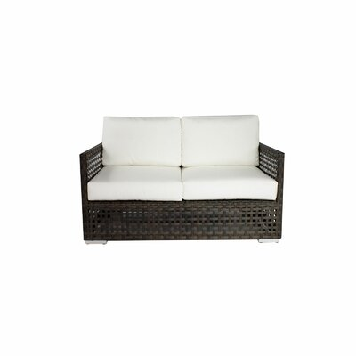 Marianna Love Seat Fabric: Rust