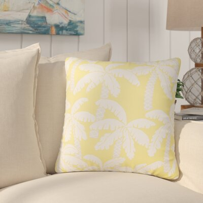 Paleosofos Coastal Indoor/Outdoor Throw Pillow Color: Green