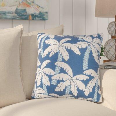 Paleosofos Coastal Indoor/Outdoor Throw Pillow Color: Blue
