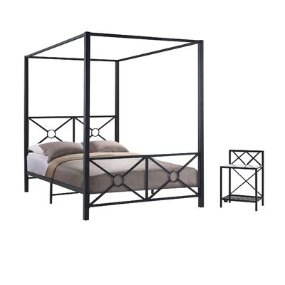Symeon Canopy Customizable Bedroom Set