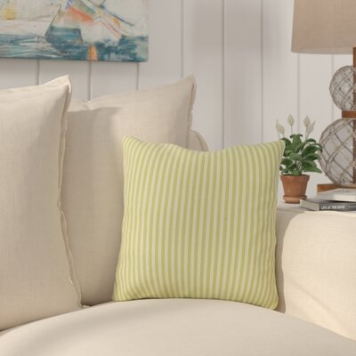 Salisbury Throw Pillow Color: Celery