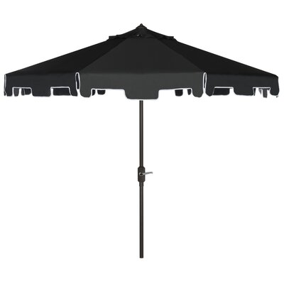 8 Drape Umbrella Fabric: Black