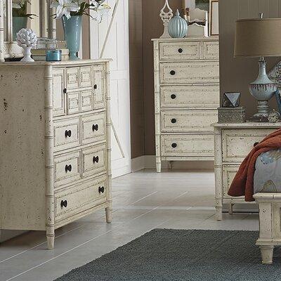 Harrouda 9 Drawer Standard Dresser Color: White