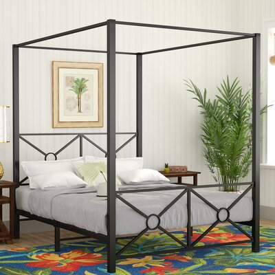Symeon Canopy Bed Size: Queen