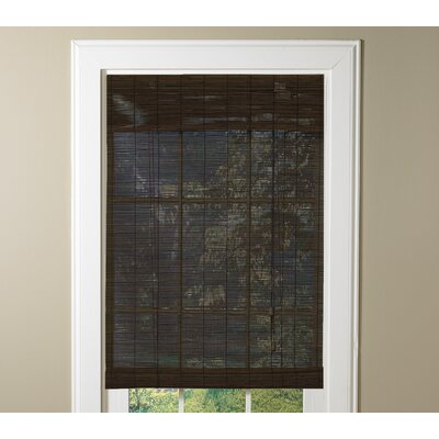 Bamboo Sheer Outdoor Roller Shade Blind Size: 60 W x 72 L, Color: Cocoa