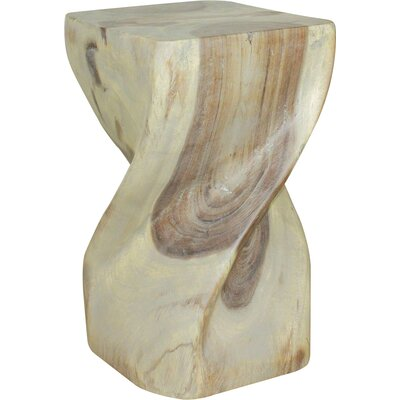 Manette End Table Color: Gray/Walnut