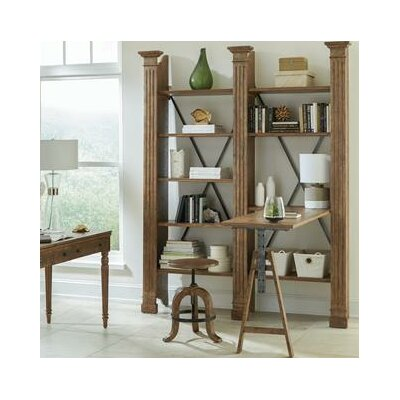 Serious Etagere Bookcase Desk Product Photo