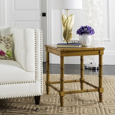 Batai End Table Finish: Brown