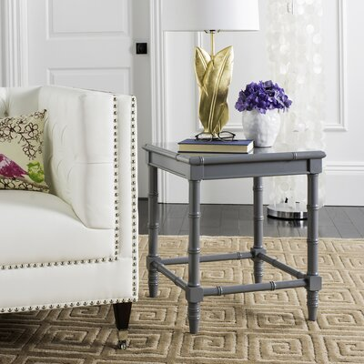 Jordon End Table Color: Gray