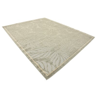 Barton Olive Indoor/Outdoor Area Rug Rug Size: Rectangle 8 x 10
