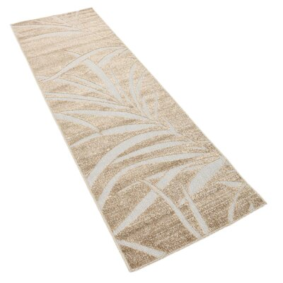 Spathariko Beige Indoor/Outdoor Area Rug Rug Size: Rectangle 6 x 2