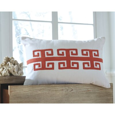 Esentepe Throw Pillow Color: Coral