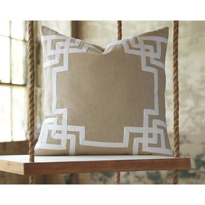 Evrychou Throw Pillow Cover Color: Natural