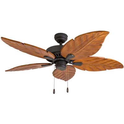 52 Killingworth 5-Blade Indoor Ceiling Fan Color: Bronze