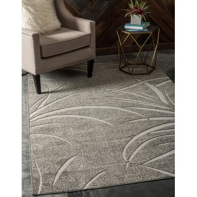 Derrytown Brown Indoor/Outdoor Area Rug Rug Size: Rectangle 6 x 9