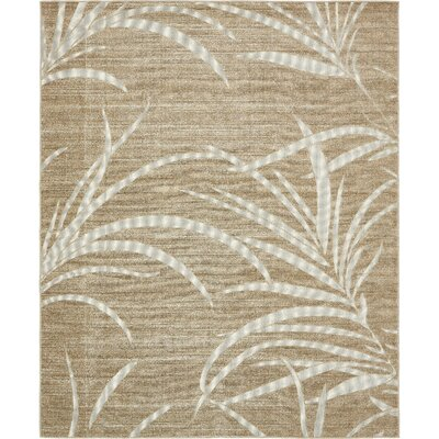 Spathariko Beige Indoor/Outdoor Area Rug Rug Size: Rectangle 8 x 10