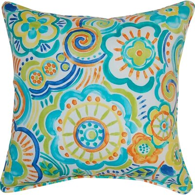 Port Saint Lucie Throw Pillow Color: Caribbean