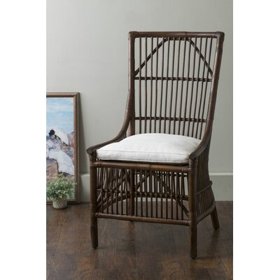 Nerissa Side Chair Upholstery: Antique Brown
