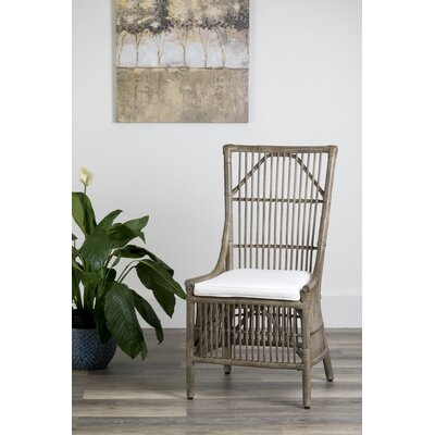 Nerissa Side Chair Upholstery: Vintage Grey
