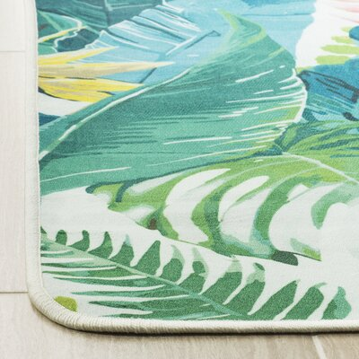 Portage Green Area Rug Rug Size: Rectangle 51 x 76