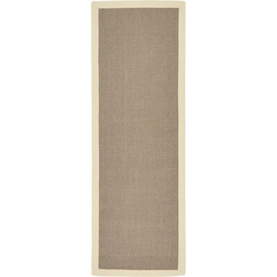 Westminster Taupe Outdoor Area Rug Rug Size: Runner 2 x 6