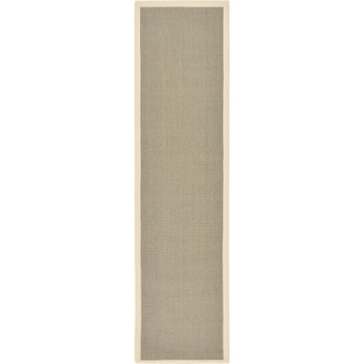 Westminster Taupe Outdoor Area Rug Rug Size: Runner 25 x 10