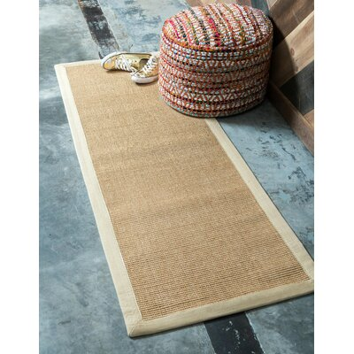 Newry Sand Indoor/Outdoor Area Rug Rug Size: Runner 2 x 6