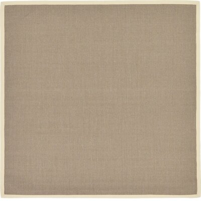 Westminster Taupe Outdoor Area Rug Rug Size: Square 8 x 8