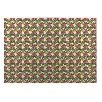 Norris Hibiscus Indoor/Outdoor Doormat Mat Size: Square 8