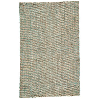 Raposa Simply Taupe/Viridian Green Naturals Area Rug Rug Size: Rectangle 2 x 3