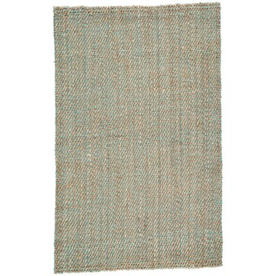 Raposa Simply Taupe/Viridian Green Naturals Area Rug Rug Size: Rectangle 8 x 10