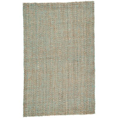 Raposa Simply Taupe/Viridian Green Naturals Area Rug Rug Size: Rectangle 9 x 12