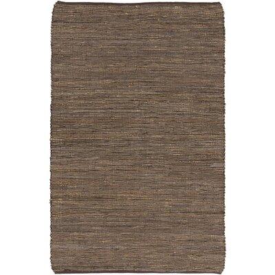 Lythragkomi Brown Area Rug Rug Size: 36 x 56