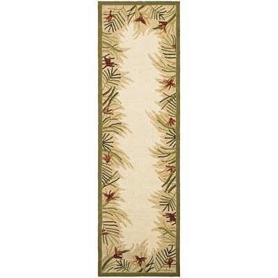 Wallingford Hand-Woven Sand Indoor/Outdoor Area Rug Rug Size: Runner 26 x 86
