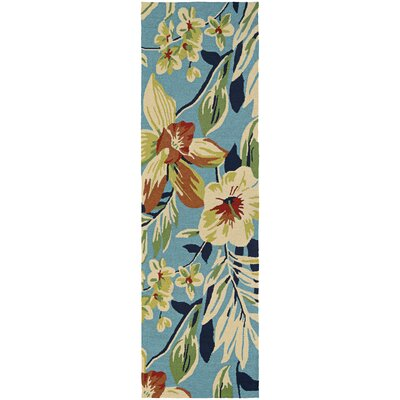 Wallingford Whimsical Garden Hand-Knotted Indoor/Outdoor Area Rug Rug Size: Runner 26 x 86