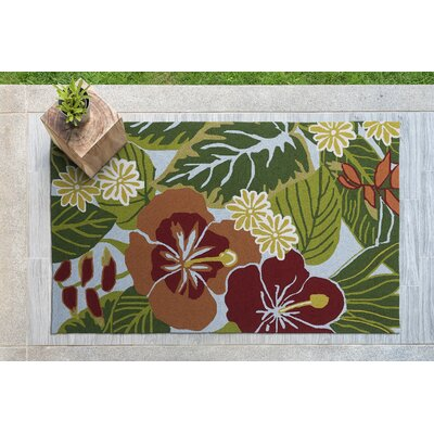 Jamaica Hand-Tufted Indoor/Outdoor Area Rug Rug Size: Rectangle 3 x 5
