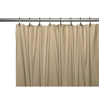 Vinyl Shower Curtain Liner Color: Linen