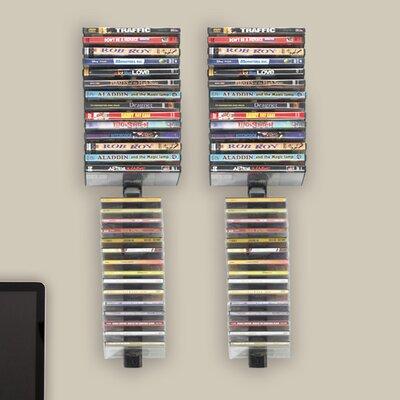Multimedia Wall Mounted Storage Rack