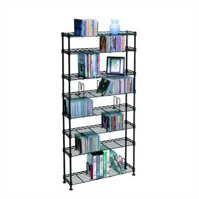 8-Tier Adjustable Multimedia Wire Rack SYPL1239 27439563