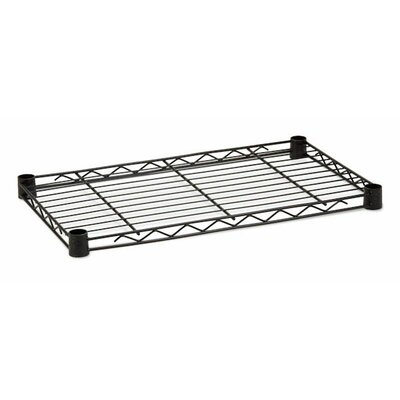 16 W x 36 D Steel Shelf Finish: Black