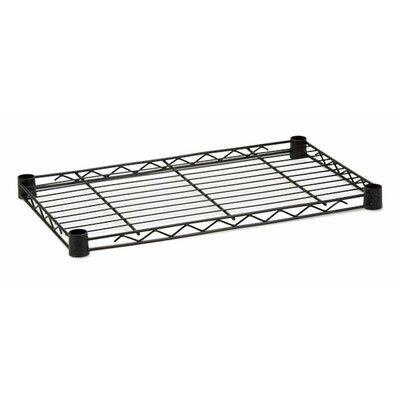 16 W x 36 D Steel Shelf Finish: Black